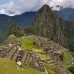 View over Machu Picchu Inca ruins, Peru — Stock Photo #53273571