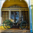 Old carriage at Historical German Museum of Valdivia, Chile — Stock Photo #53275055