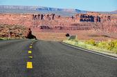 Road trip in Arizona, USA — Stock Photo
