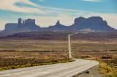 Road trip to Monument Valley, Arizona, USA — Stock Photo