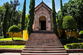 Bell's church in Puebla, Mexico — Stock Photo