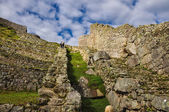 View over Machu Picchu Inca ruins, Peru — Stock Photo
