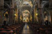Old Cathedral of Santiago de Chile — Stock Photo