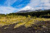 Osorno Volcano viewed from Lago Todos Los Santos, Chile — Stock Photo