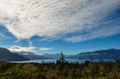 Trail around Lago Todos Los Santos, Chile — Stock Photo