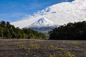 Osorno Volcano viewed from Lago Todos Los Santos, Chile — Stock Photo