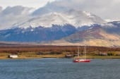 Puerto Natales, in Southern Chile — Stock Photo