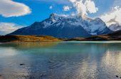 Parque Nacional Torres del Paine, Chile — Stock Photo