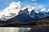 Parque nacional torres del paine, chili — Stockfoto