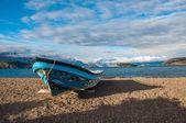 Killer boat in Lago General Carrera, Carretera Austral, HIghway  — Stock Photo
