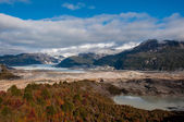 Bahia Exploradores, Carretera Austral, Highway 7, Chile — Stock Photo