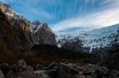 Parque Nacional of Queulat, Carretera Austral, Highway 7, Chile — Stock Photo
