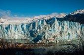 Beautiful landscapes of Perito moreno Glacier, Argentina — Foto Stock