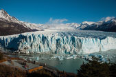 Beautiful landscapes of Perito moreno Glacier, Argentina — 图库照片