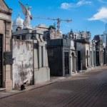 La Recoleta cemetery in Buenos Aires, Argentina — Stock Photo #54700497