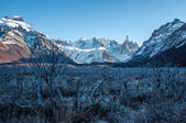 Landscapes of South Argentina, in the Fitz Roy trail — Stock Photo