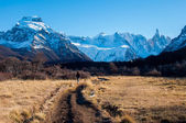 Landscapes of South Argentina, in the Fitz Roy trail — Photo