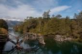 Seven lakes road in Villa la Angostura, Argentina — Stockfoto