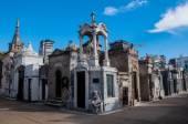 La Recoleta cemetery in Buenos Aires, Argentina — Стоковое фото