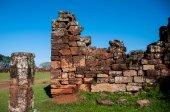 San Ignacio Mini Jesuites ruins, Misiones, Argentina — Stock Photo