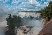 Incredible and gorgeous waterfalls of Iguazu, Argentina — Stock Photo