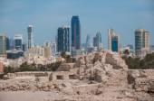 Qal'At Al Bahrain Fort, Island of Bahrain — Stockfoto