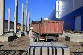 Factory Avtotor on September 16, 2014 in Kaliningrad, Russia. — Zdjęcie stockowe