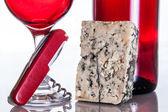 Gourmet wine and dine — Stock Photo