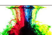 Colors in water — Foto de Stock