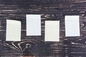 бумажные наклейки — Стоковое фото