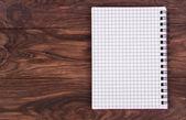 Open notebook — Stock Photo