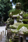 Ancient lantern in the shrines — Stockfoto