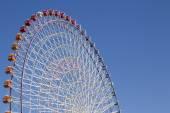 The highest Tempozan Gaint Ferris Wheel (Daikanransha) in the cl — Stock Photo