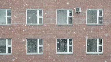 Snowfall — Stockvideo