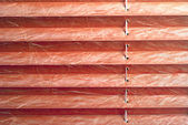 Pleated blind red — Stock Photo