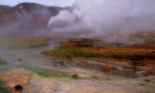 Iceland landscape — Foto Stock