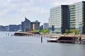Copenhagen Riverside  Buildings — 图库照片