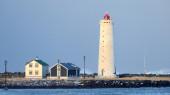 маяк — Стоковое фото