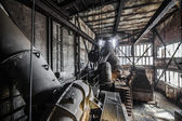 Inside the old Factory — Stock Photo
