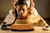 Thai massage — Стоковое фото