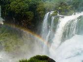 Iguazu Falls Rainbow — Foto de Stock