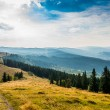 Sunset in the Carpathian mountains — Stock Photo #54315493
