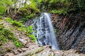 Carpathian mountain waterfall — Stock Photo