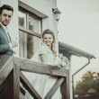 Wedding couple outdoor — Stock Photo #57453111