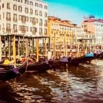 Gondolas at the Piazza San Marco, Venice — Stock Photo #58851275