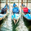 Gondolas at the  Piazza San Marco, Venice — Stock Photo #58851561