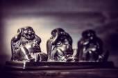 Drei Figuren der Buddah-Philosophie — Stockfoto