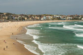 Playa de bondi, sydney — Foto de Stock