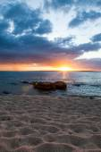 Sunset at the beach, Australia — Stock Photo