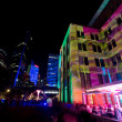 Museum of contemporary arts during Vivid Sydney festival — Stock Photo #65888803